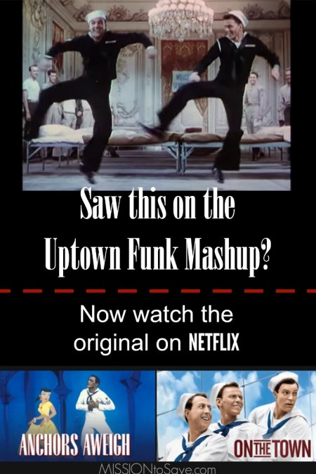 Watch the Original Old Hollywood Movies from the Uptown Funk Mashup on Netflix #StreamTeam
