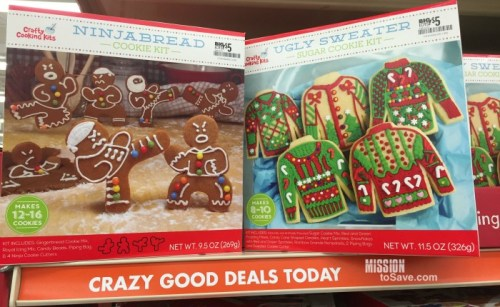 silly cookie kits at big lots