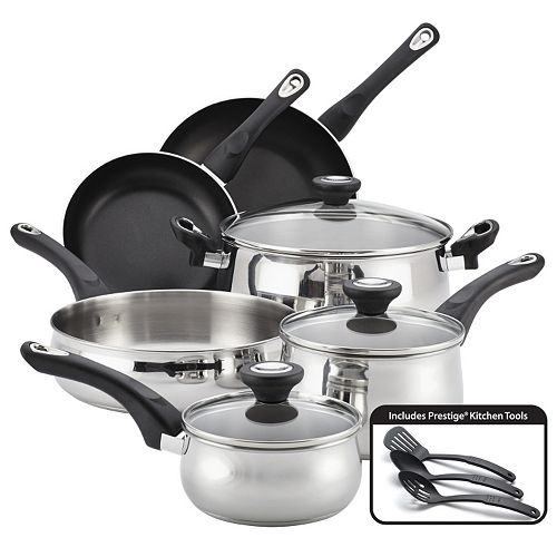 stainless steel cookware set deal