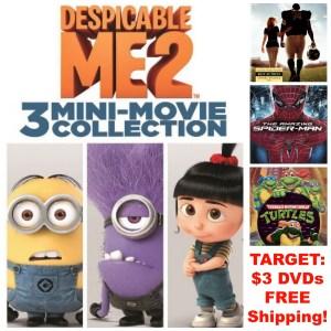 target 3 dollar dvds