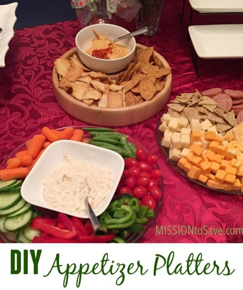 DIY Appetizer Platters
