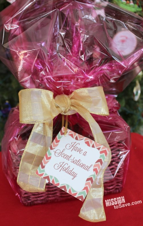 DIY Have a Scent-sational Holiday Gift Basket