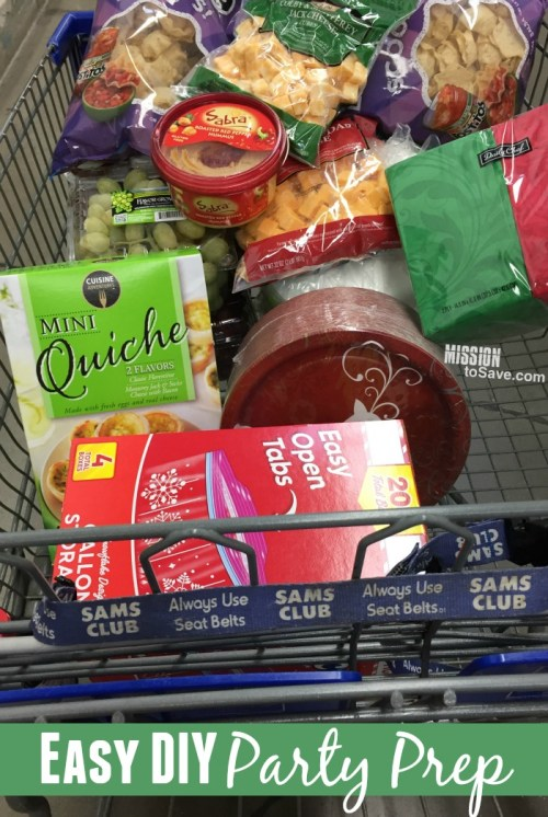 Easy DIY Party Prep at Sam's Club with CurrentC app