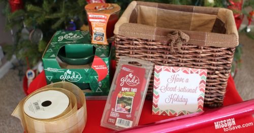 Have a Scentsational Holiday gift basket items