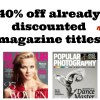 40% Off All Magazine Subscriptions (Great Last-Minute Gift!)