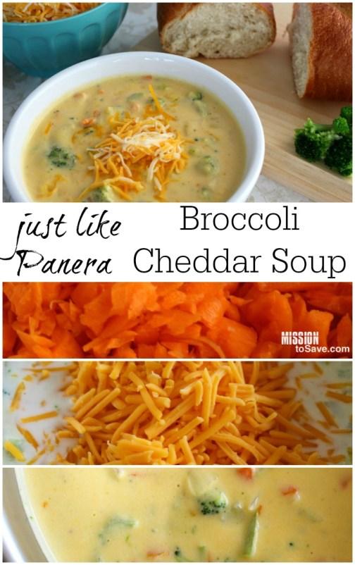 Broccoli Cheddar Soup Recipe