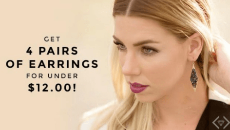 Cents of Style Earrings Sale