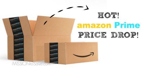 hot Amazon Prime price drop