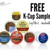 Free K- Cup Sampler (after rebate from Amazon)