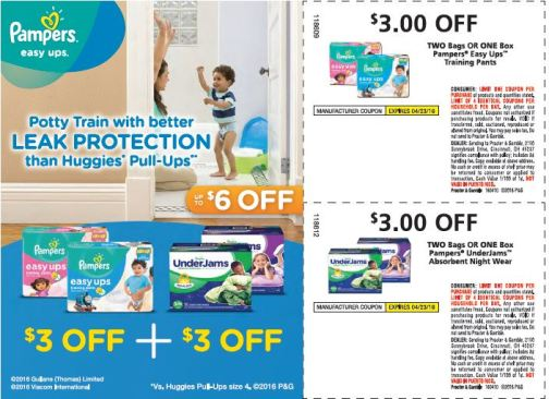 Pampers 4.10 Coupons
