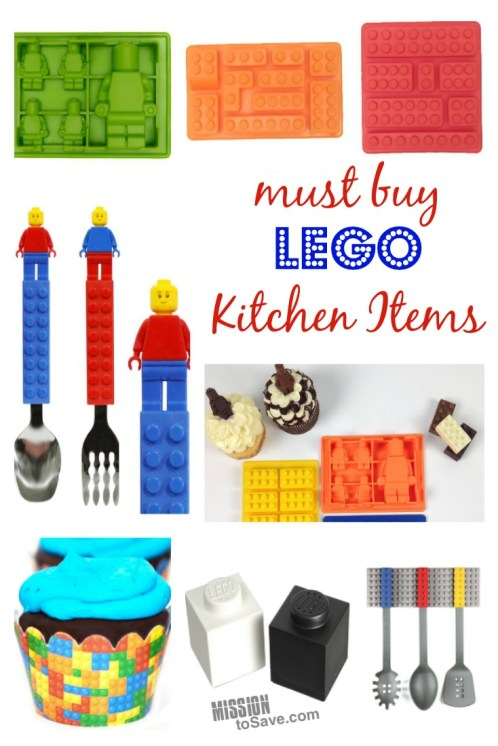 Do you have a brickmaster in your house? Whether they are 4 or 40, check out these fun LEGO Foodie items. Everything from molds, to utensils and candy- perfect for any LEGO lovers' kitchen.