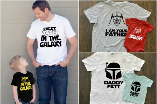 Father's Day Star Wars shirts