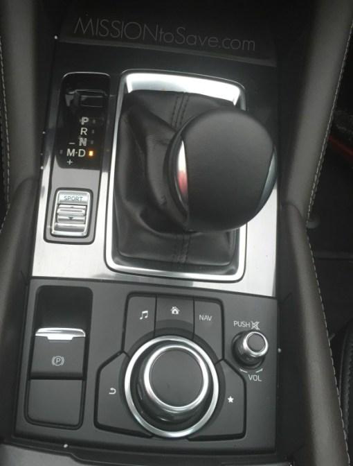 Mazda6 center console