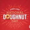 Krispy Kreme National Doughnut Day Freebie on June 2nd