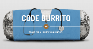 chipotle bogo nurses