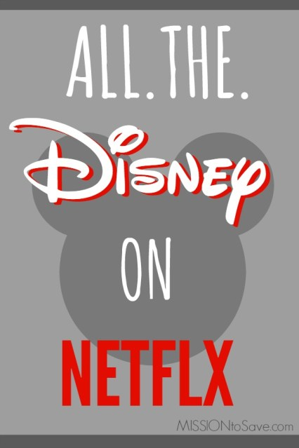 Starting in September of 2016 Disney comes to Netflix (Marvel, Lucas and Pixar too) What Disney movies are you looking forward to streaming on Netflix?