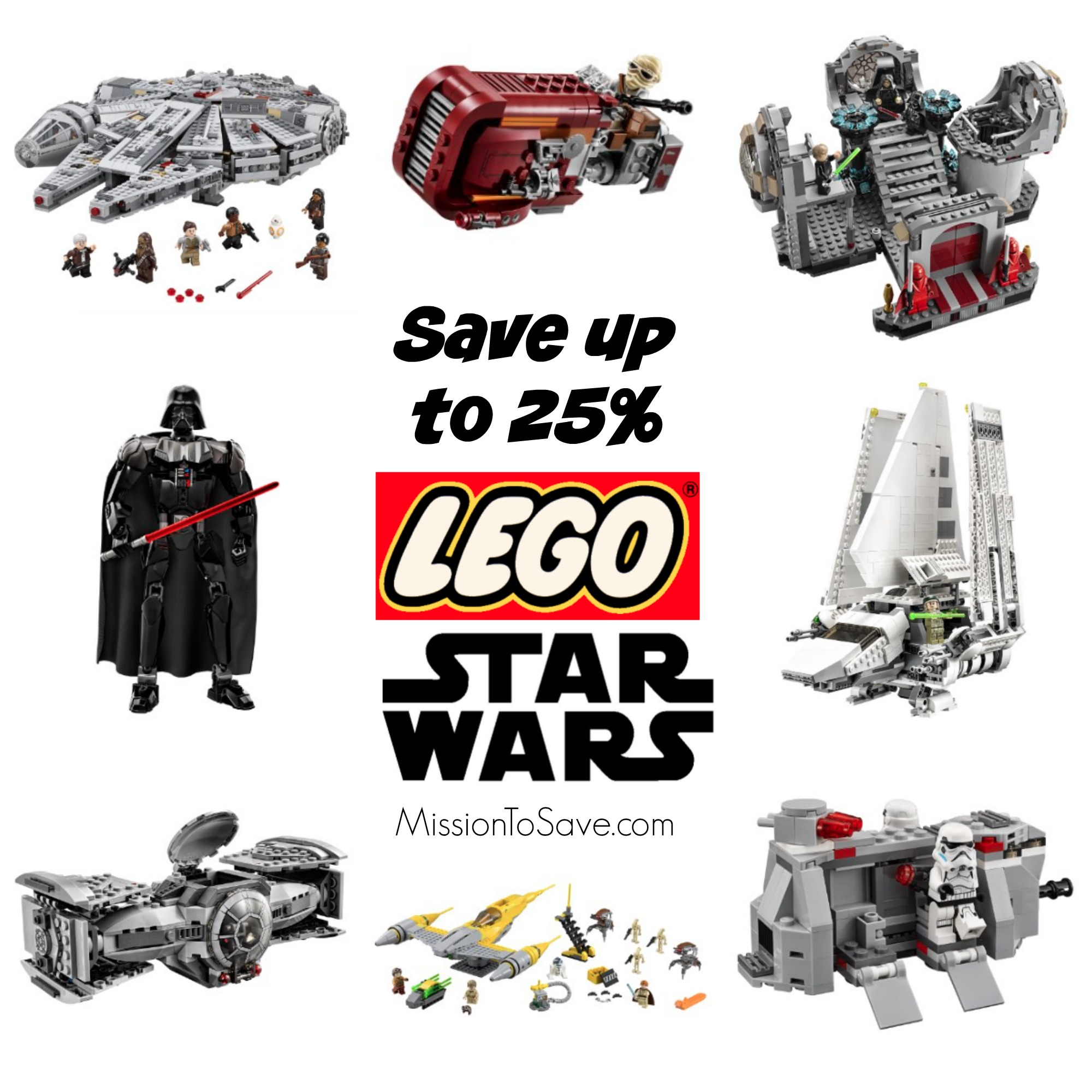 Lego Star Wars Sets Up To 25 Off Mission To Save