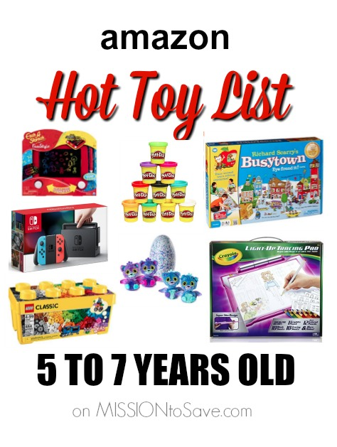 Amazon Hot Holiday Toy List for Kids - 5 to 7 Years Old Mission: Save Mission