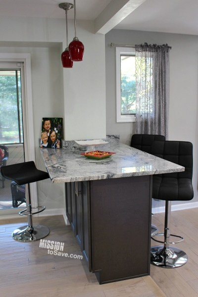 Create a Kitchen Island with Breakfast Bar - Hub of the Home ...