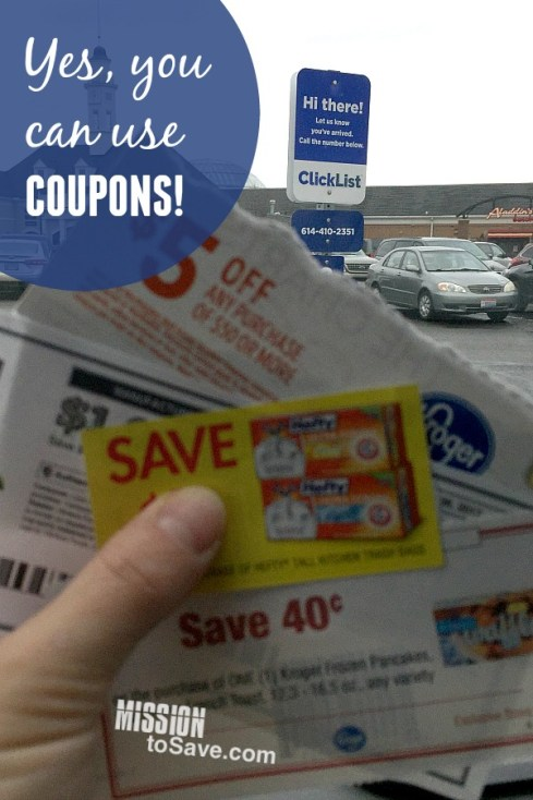 Kroger ClickList offers more than just convenience to help you save time and money. See what sets ClickList apart from other online grocery pickup services. This is #1! Yes you can use coupons with ClickList!