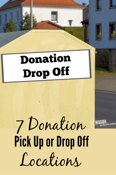 Donation is a great way to get rid of things you no longer use, while helping out someone in need. Check out this list of donation pick up or donation centers near you. Also see tips for choosing a donation organization.