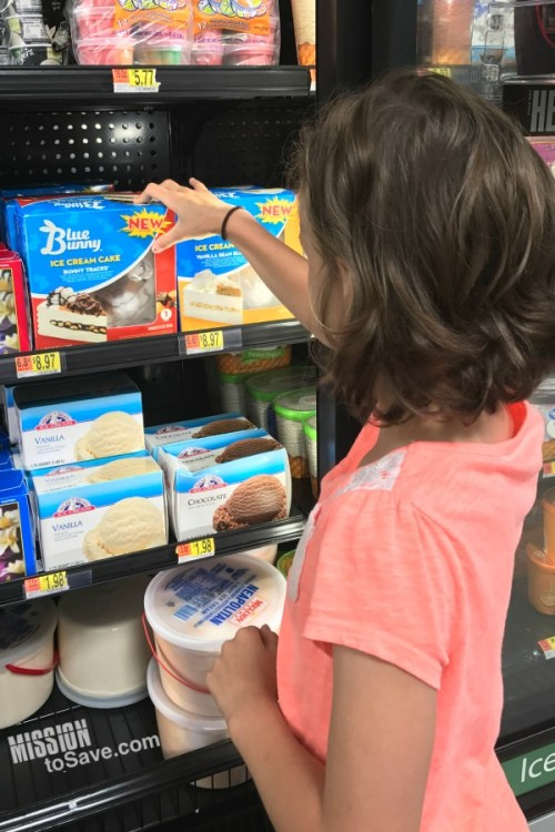 Blue Bunny Ice Cream Cakes are the perfect treat for any celebration. These cakes can be found at Walmart- save time on your prep and save money with a high value coupon too! #ad ##CelebrateWithBB