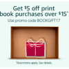 Amazon Coupon: $5 Off $15+ Book Purchase!