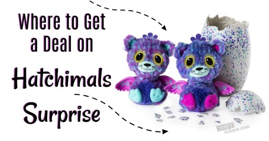 They're back! Check out where to get a deal on Hatchimals Surprise. And mark this hot holiday toy critter off your Christmas list.