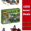 Latest Deals on LEGO Minecraft Sets on Amazon