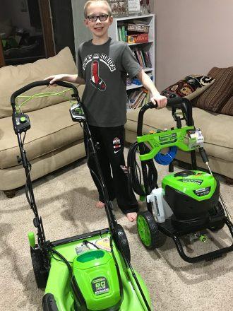 We love Greenworks Tools