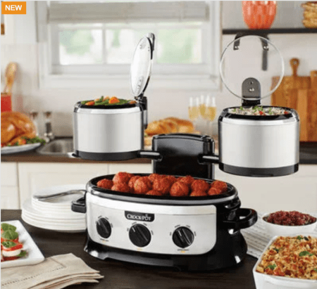HOT Crock-Pot Clearance on Swing and Serve and Classic 6 Qt