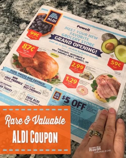 Aldi coupon