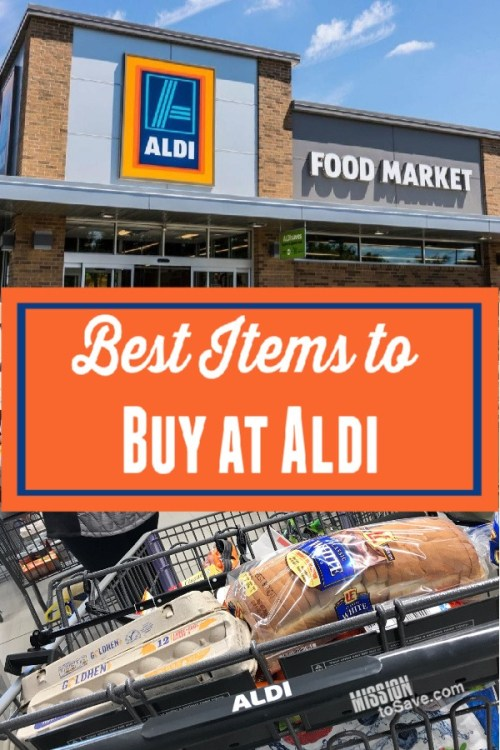 Best Aldi Products to Buy