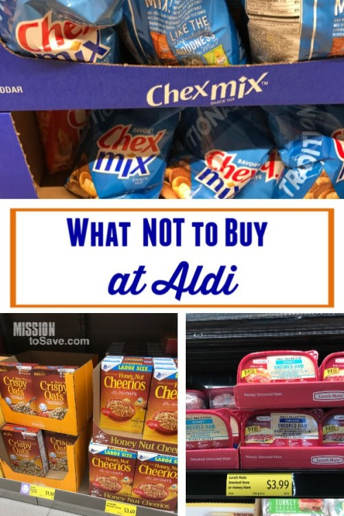 what not to buy at Aldi