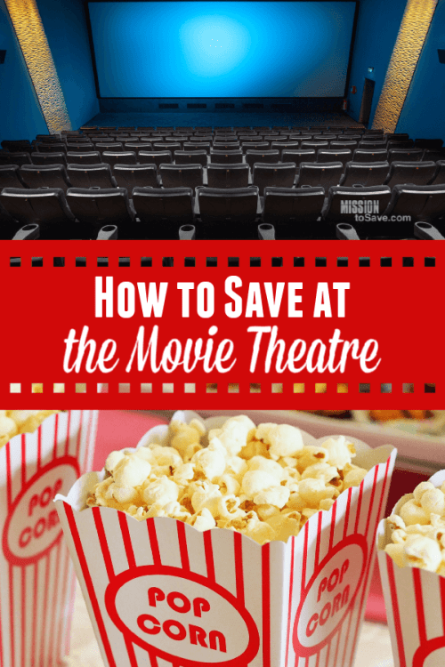 How to save at the movie theater. (Movie popcorn and theatre seats)