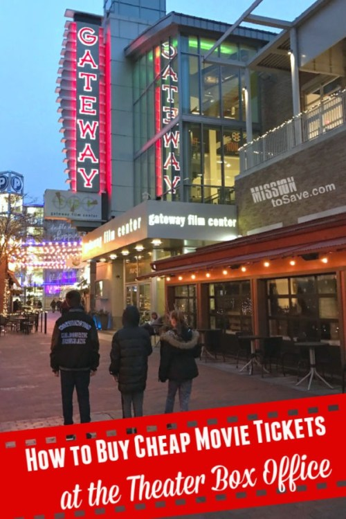 Movie Theater Box Office - Learn how to get cheap movie tickets.