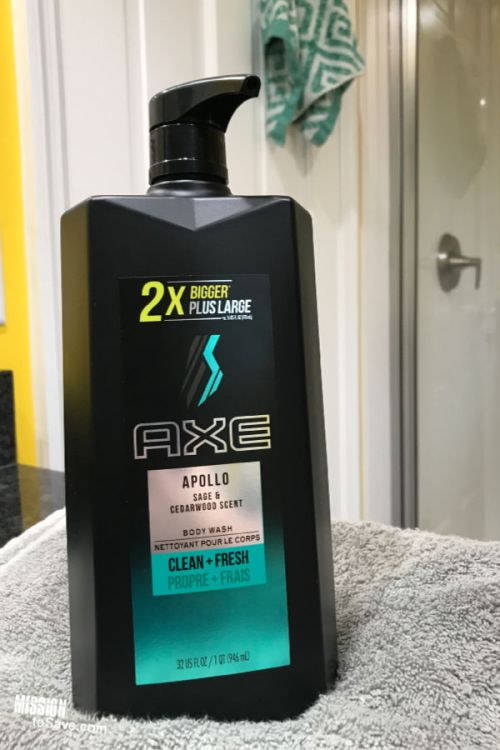 AXE Apollo Body Wash Pump Bottle