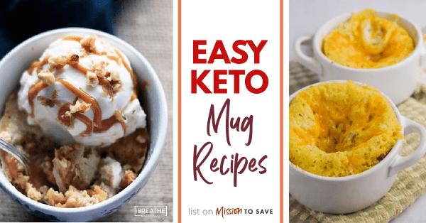 pictures of keto mug recipes