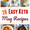 20 Easy Keto Mug Recipes