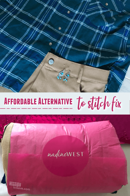 Outfits from clothing subscription Nadine West- alternative to Stitch Fix