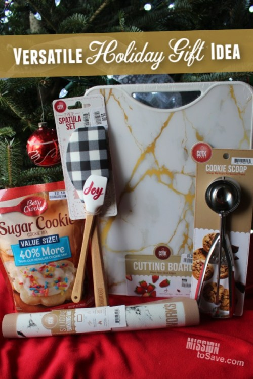 A baking gift basket is the perfect versatile holiday gift idea.