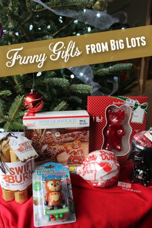 Funny and Gag Gifts at Big Lots perfect for White Elephant Gift Ideas