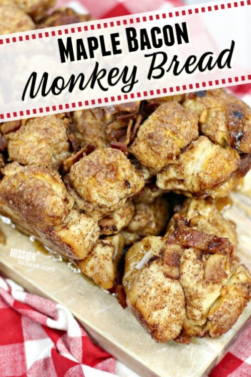 loaf od maple bacon monkey bread