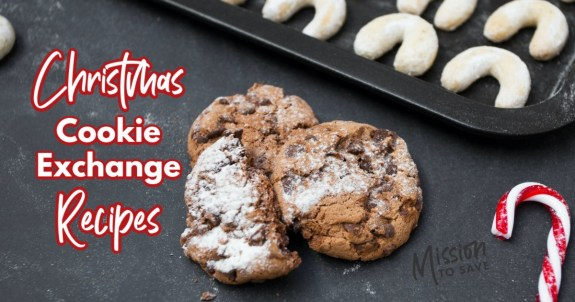 baking cookies text christmas cookie exchange recipes