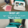 Cricut Joy cutting machine and Cricut Joy products