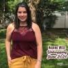 maroon tank and mustard pants from Nadine West