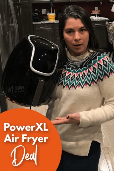 PowerXL Air Fryer Deal