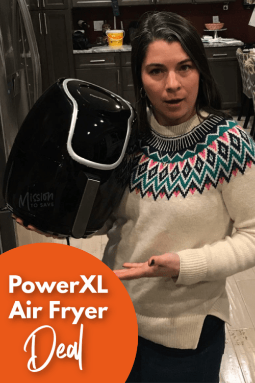 PowerXL Air Fryer Deal