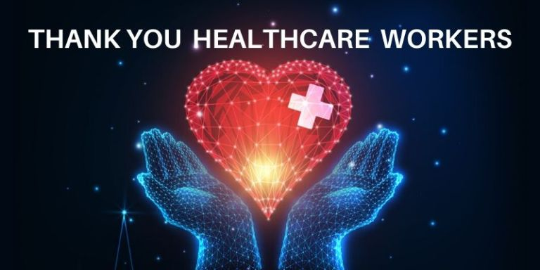 Thank you healthcare workers from Mission Wealth
