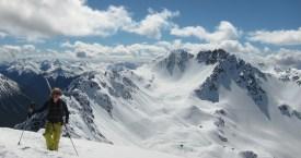 Jordi hiking Mt olympus Mission WOW ski women